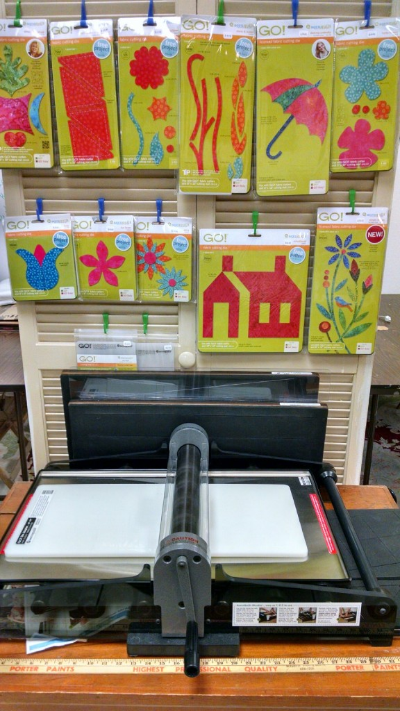 AccuGo Die Cuts Available at Fabrics In The Fray